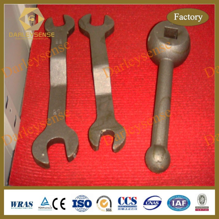 Factory Manufactured <strong>Iron</strong> Products Investment Casting Reversible Wrench