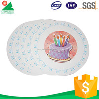 High Quality Logo Printed paper plates craft ideas