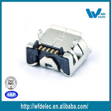High precision usb 3.0 2 DIP type receptacle usb connector