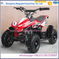 China wholesale 2 strokes 4x4 wheeler atv for kids for sale price