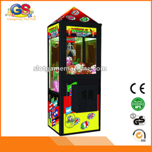 Beautiful Popular Hot Sale Indoor Arcade Coin Operated Catch Crane Mini Plush Toy Claw Crane Machines for Children Adult