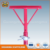 Scaffolding steel post shoring props jack