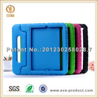 EVA foam shock absorbent case for ipad 4,for ipad case 3 with handle stand
