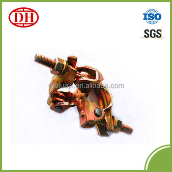 Galvanized BS type pressed scaffolding coupler DHBS-F001