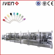 PET blood collection tube production line
