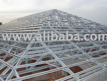 Steel roof trusses buy steel roof trusses product on for Buy roof trusses