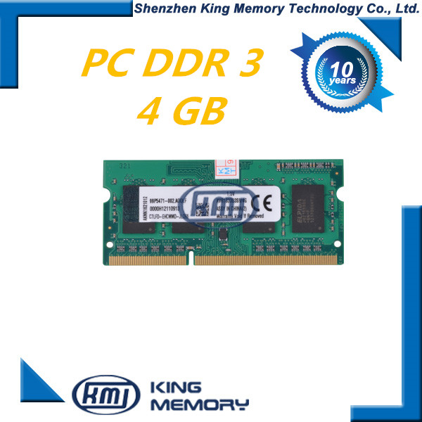 laptop computer parts cheap ddr3 ram 4gb price in china