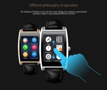 Zeblaze Cosmo Wireless BT Smart Watch for ios Apple & Android 2016 Heart rate Monitor Waterproof Smartwatch Leather Strap
