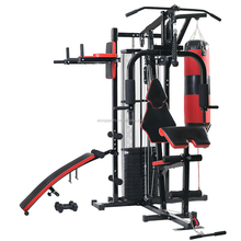 New Multi Gym 100KG Weights Kraftstatio Fitness Equipment Multi Station Home Gym Heavy Duty Frame with Dumbbell Exercise Bench H