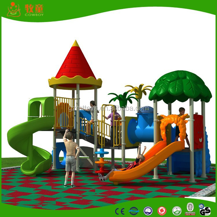 Playground, Play Center and Slide Combination nice colorful outdoor playground 05