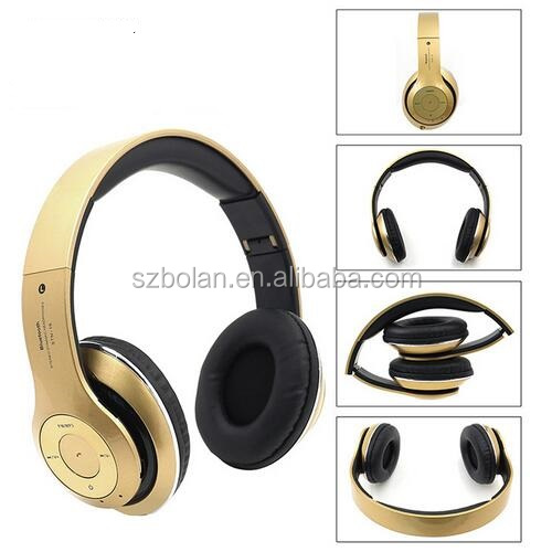 BOLAN High Quality Portable Bluetooth Headphone Wireless Stereo Headset Deep Bass Bluetooth Headphone