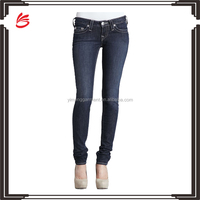 Slim fit women strong stretch denim jeans pants wholesale