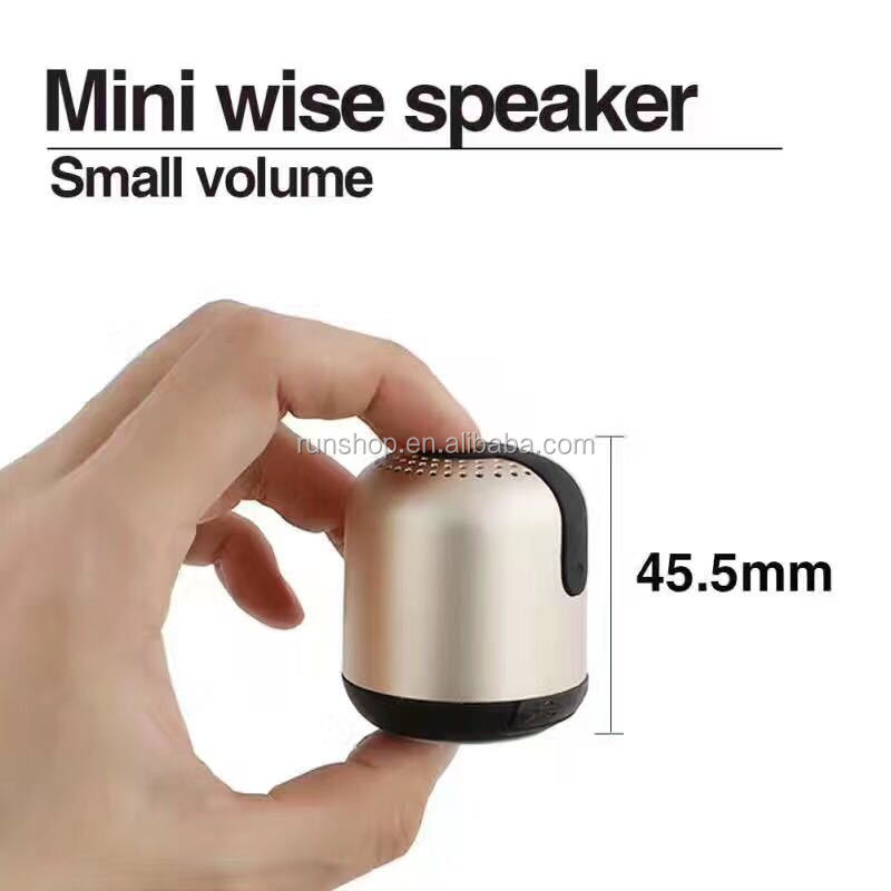 2017 New super mini portable bluetooth speaker For cell phones