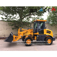 Chinese mini farm tractor 4 wheel drive tractor with front end loader for sale