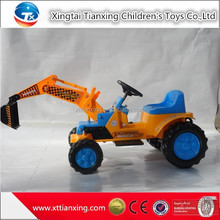 High quality best price kids indoor/outdoor sand digger battery electric ride on car kids excavator toys for kids