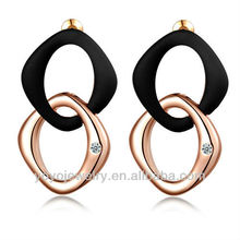 Wholesale jewelry crystal kids basketball wive earring
