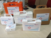 2017 Wholesale OEM Box with PP Material Design tool kit box emergency Logo printed first aid kit
