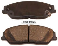 Kapaco Raybestos Brake pads 8950-D1726 for Toyota Camry