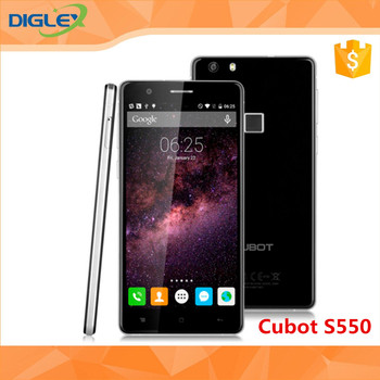 New and Original China mobile phone Cubot S550 smart Phone with MTK6735 Quad Core 5.5 inch 2GB RAM+16GB ROM 1280x720
