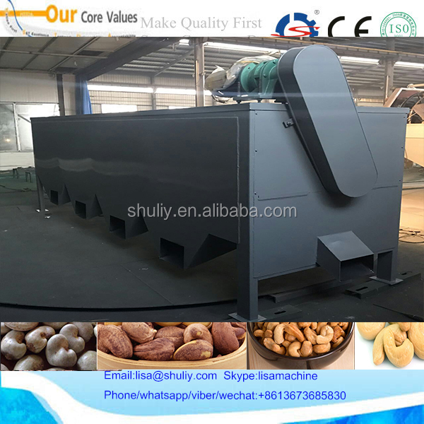 Nut processing peanut cashew nuts classifier grading machine 008613673685830