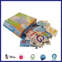 Eco Friendly Custom Hotsale Puzzle Toy Puzzle Card