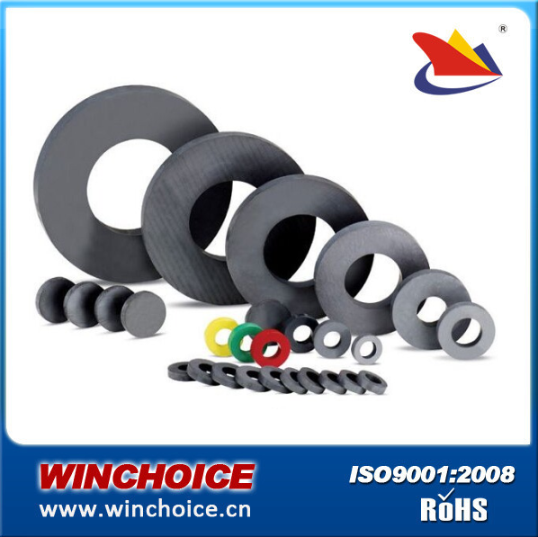 High quality big 220mm ferrite ring magnets for speaker
