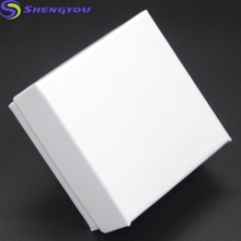 Elegant Design Fashion Necklace Jewellery Box White Color Paper Box