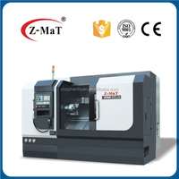 Turret CNC lathe machine STL10 Advanced Linear Guide Way CNC lathe Machine tool price with hydraulic tailstock