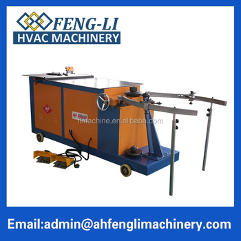 Special promotional low cost china round elbow duct making machine