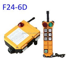 Hot model 220V Telecrane F24-6D industrail wireless crane remote, telecrane remote control for overhead crane, EOT crane