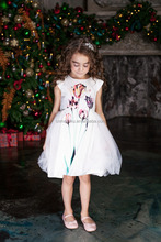 China supply lovely simple new design angel kids traditional dresses for sale
