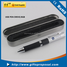 USB Pen disk with gift box and customize OEM logo for promotion, customize capacity available