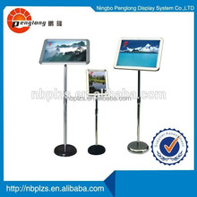 Aluminum chinese style photo picture stand Poster Display Racks