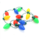 Most creative flashing Lights,13pcs led lights necklace led christmas light necklace