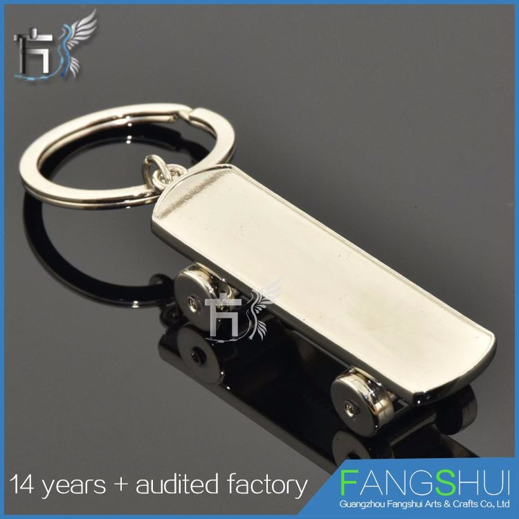 Fast delivery skateboard shoes floating keyring on sale