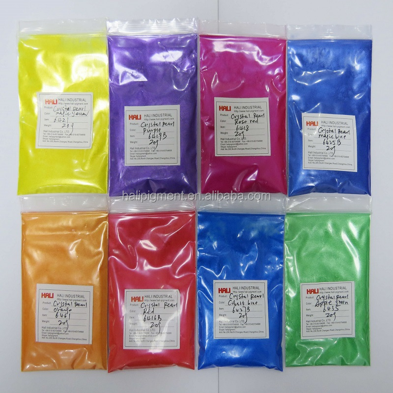 crystal series rose red pearl pigment particle size: 20-70micron very shinning color crystal mica pigment rubber pigment