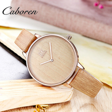 Custom design wood watch custom logo made in china watch for girl