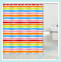 wholesale walmart polyester shower curtains designs