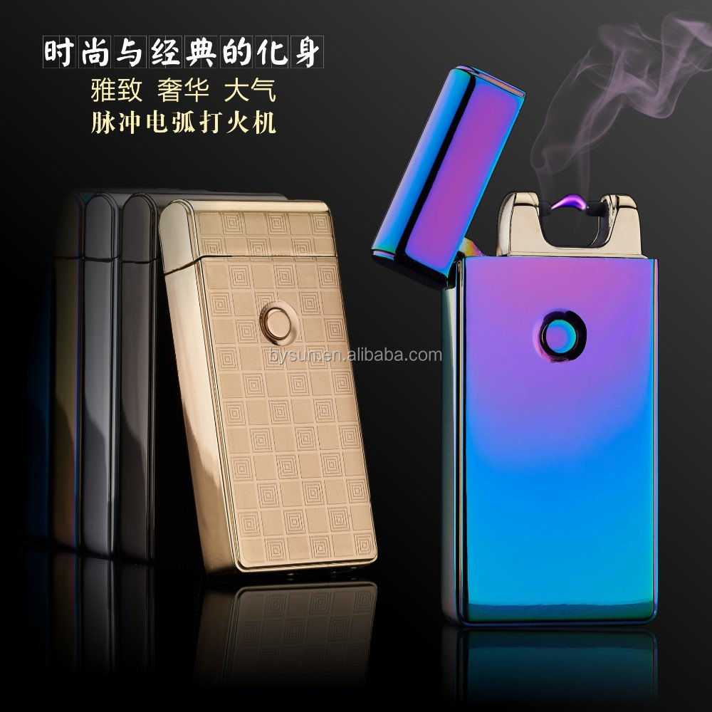 BS-1246 single USB Electric Arc Lighter usb lighter