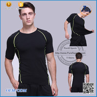2016 New product OEM/ODM custom sports mens printed round neck football t shirt picture of pant and shirt for men man