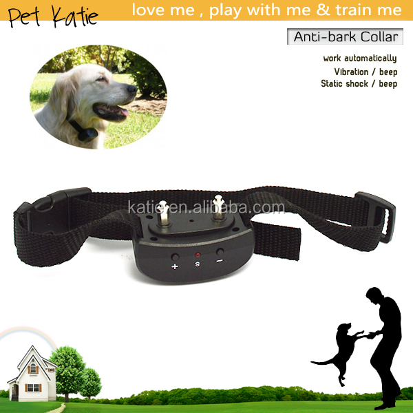 Factory Wholesale Pet E Trainer Stop A Barking Dog Vibrate Collar