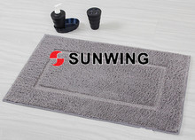 Anti-slip chenille floor mat/soft microfiber bedroom floor rug