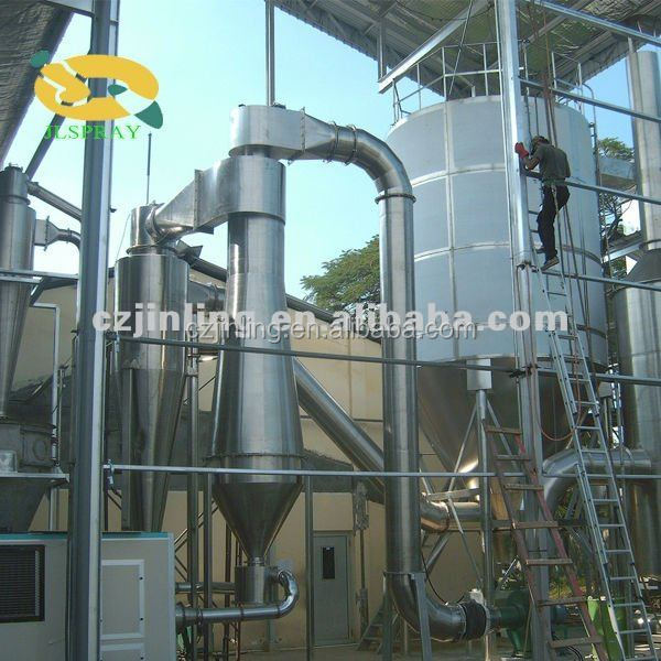 enzymes spray drying plants