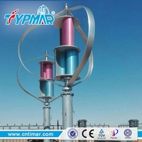 300W 600W 1KW 3KW Maglev Vertical Axis Residential Wind Turbine Generator Price