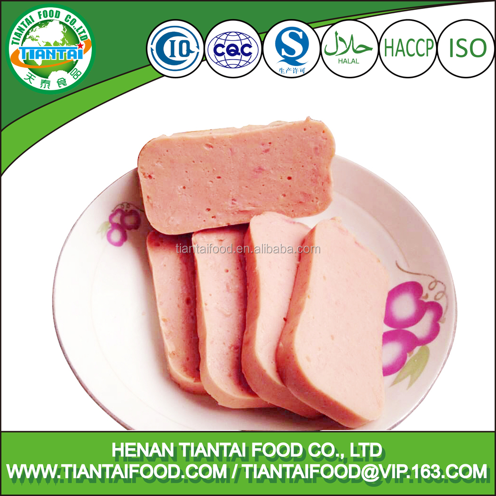 Canned Meat, Canned ChickenLuncheon Meat, Halal Meat China Factory