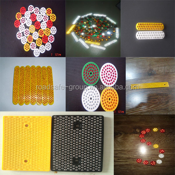 hot new products for 2014,used for more than 3 years solar road studs with different color