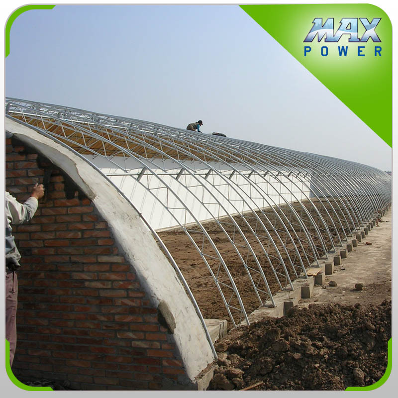 2016 new greenhouses structure with hydroponic system