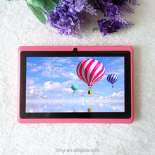 7 inch Q8 loud speak quad core tablet pc dual cameras larger battery android 4.4.2