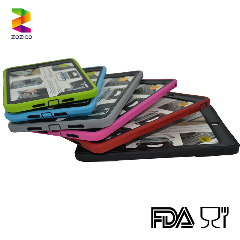 Hot selling for ipad 2 3 4 hybrid TPU tablet case back pack cover