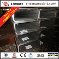 Tianjin square rectangular pipe ! astm a500 square steel pipes steel square tubing weight chart